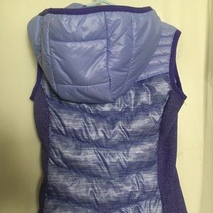 Free Country vest super cute lavender.